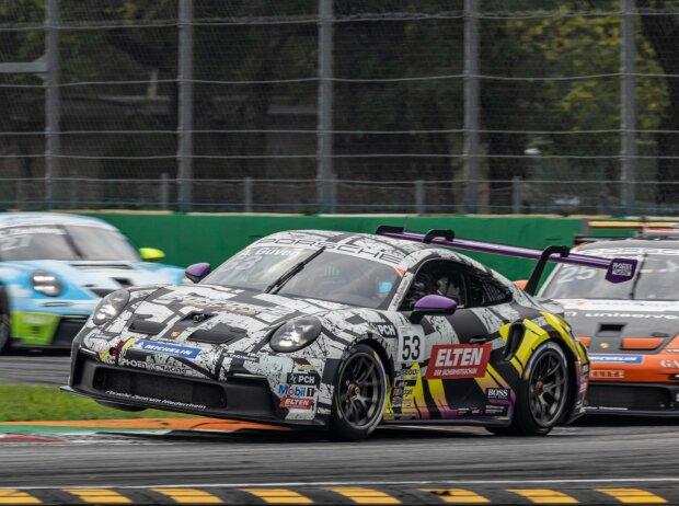 Ayhancan Güven gewinnt das Samstagsrennen des Porsche-Carrera-Cups in Monza