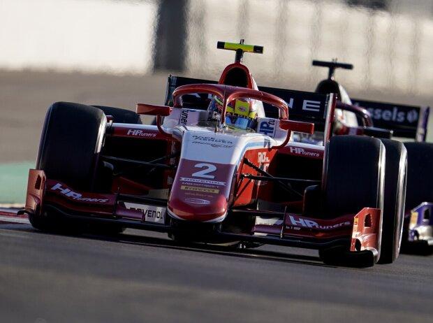 Oscar Piastri beim Rennen der Formel 2 2021 in Sotschi