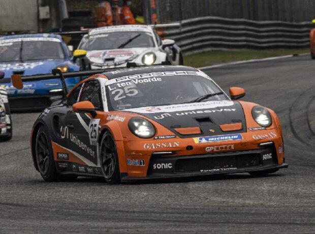 Larry ten Voorde beim Rennen des Porsche-Carrera-Cup 2021 in Monza