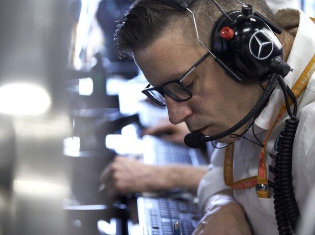 Peter Bonnington, Renningenieur von Lewis Hamilton bei Mercedes