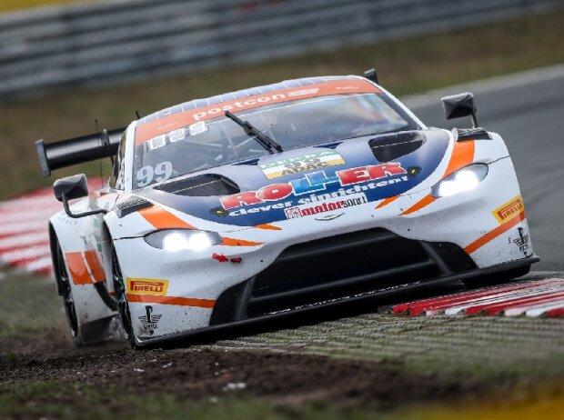 Daniel Keilwitz und Ezequiel Perez Companc im Aston Martin Vantage GT3 beim ADAC GT Masters in Zandvoort 2019