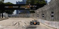 IndyCar-Auto beim Rennen auf der Belle Isle in Detroit