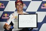 Marc Marquez mit einem Herz für Nicky Hayden