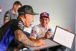 Fabio Quartararo (Yamaha) und Marc Marquez (Honda)