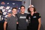 Cameron Beaubier (American Racing), Sean Dylan Kelly und Joe Roberts (Italtrans)