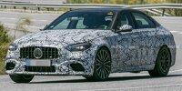 Mercedes-AMG C 63 (2022) als Erlkönig