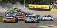 Start des ersten Rennens des Porsche-Carrera-Cup auf dem Sachsenring 2021