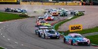 ADAC GT Masters, Sachsenring, Crash