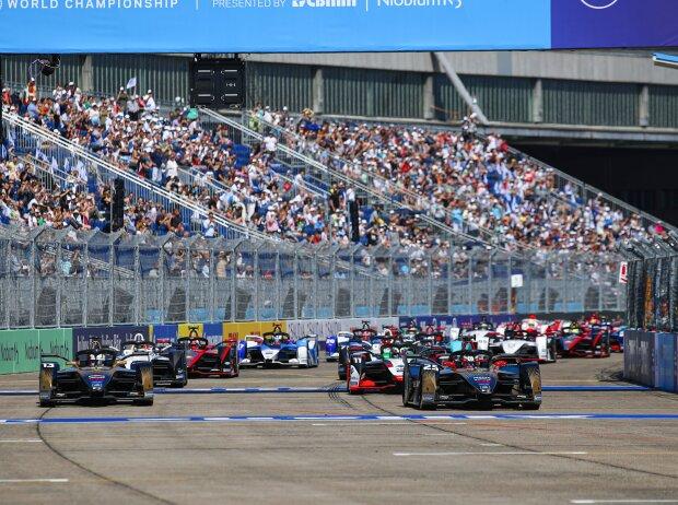 Formel-E-Start in Berlin