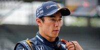 Takuma Sato wurde von RLL verabschiedet