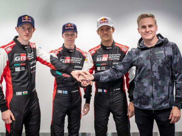 Der Toyota-Fahrerkader für die WRC-Saison 2022
