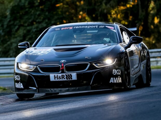 BMW i8 von Sorg Rennsport auf der Nürburgring-Nordschleife