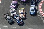 Kelvin van der Linde (Abt-Audi), Liam Lawson (AF-Corse-Ferrari), Lucas Auer (Winward-Mercedes), Arjun Maini (GetSpeed-Mercedes) und Philip Ellis (Winward-Mercedes)