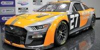 NASCAR-Auto des Team Hezeberg