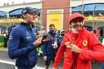 George Russell (Williams) und Carlos Sainz (Ferrari)