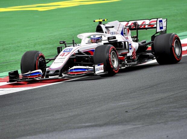 Mick Schumacher (Haas VF-21) im Formel-1-Rennen von Istanbul 2021