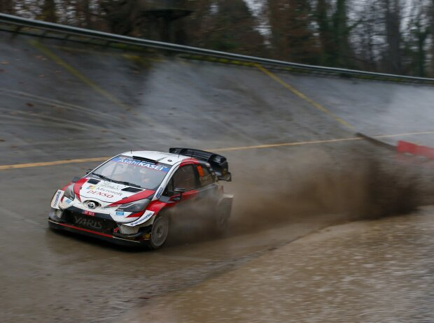 Kalle Rovanperä im Toyota Yaris WRC bei der Rallye Monza 2020