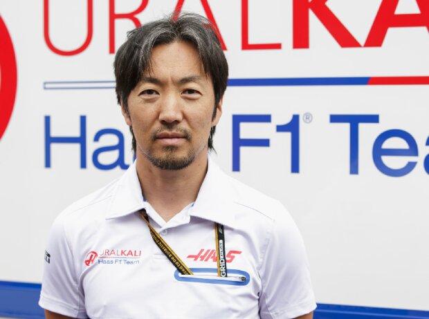 Haas-Chefingenieur Ayao Komatsu