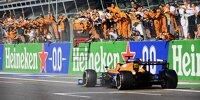 Daniel Ricciardo (MCL35M) siegt beim Formel-1-Rennen in Monza 2021