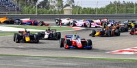 Start der Formel 2 in Sachir (Bahrain)