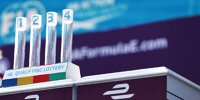 Qualifying-Lotterie in der Formel E: Auslosung der Gruppen