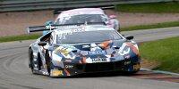 Maximilian Paul und Marco Mapelli im T3-Lamborghini Huracan GT3 Evo beim ADAC GT Masters auf dem Sachsenring