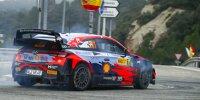Thierry Neuville im Hyundai i20 WRC bei der Rallye Spanien 2021