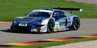Kim-Luis Schramm und Dennis Marschall im Audi R8 LMS GT3 von Rutronik Racing beim ADAC GT Masters 2021 auf dem Sachsenring