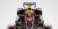 Red Bull mit Acura-Branding
