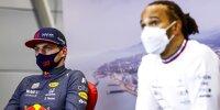 Max Verstappen, Lewis Hamilton
