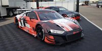 Audi R8 LMS Evo II und Audi RS 3 LMS für 2022 im Fahrerlager des ADAC GT Masters auf dem Hockenheimring 2021