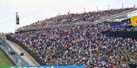 Formel-1-Rennen in den USA 2021, Austin, Fans auf den Tribünen