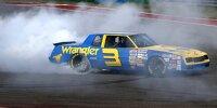 Daniel Ricciardo im NASCAR-Auto von Dale Earnhardt von 1984 in Austin