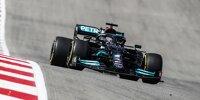 Formel-1-Pilot Lewis Hamilton beim Großen Preis der USA in Austin