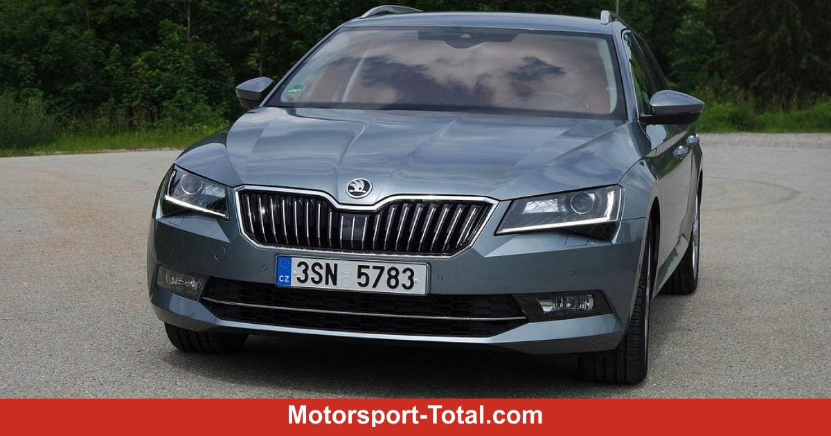 skoda superb combi grenzg nger. Black Bedroom Furniture Sets. Home Design Ideas