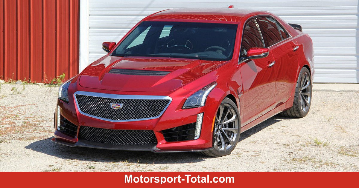 fahrbericht cadillac cts v schneller geht es nicht. Black Bedroom Furniture Sets. Home Design Ideas