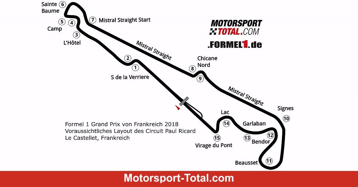 Baku Formel 1 >> Paul Ricard gibt Formel-1-Layout und Termin bekannt