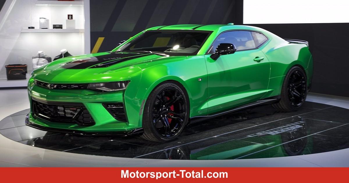 Chevrolet Camaro Track Concept 2017 Noch Renntauglicher
