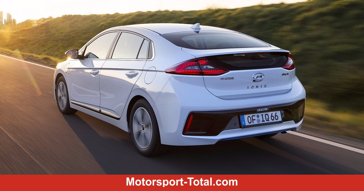hyundai ioniq plug in hybrid elektroauto f r unter. Black Bedroom Furniture Sets. Home Design Ideas