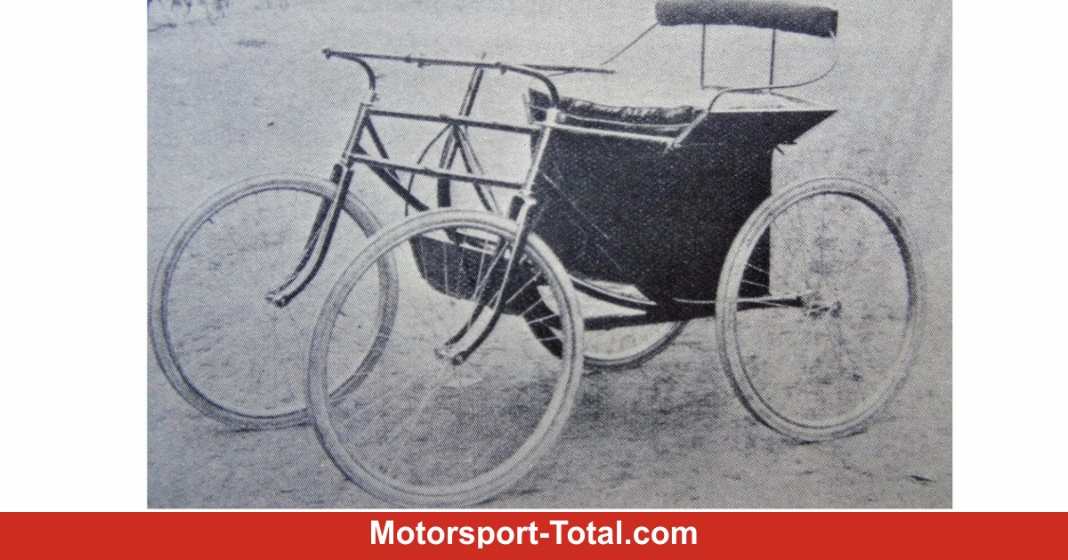 Oldtimer-Geschichte: Wie aus Fahrrädern erste Autos wurden