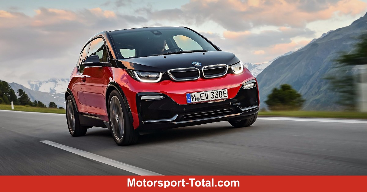 bmw i3s 2018 elektroflitzer mit sportfahrwerk tieferlegung. Black Bedroom Furniture Sets. Home Design Ideas