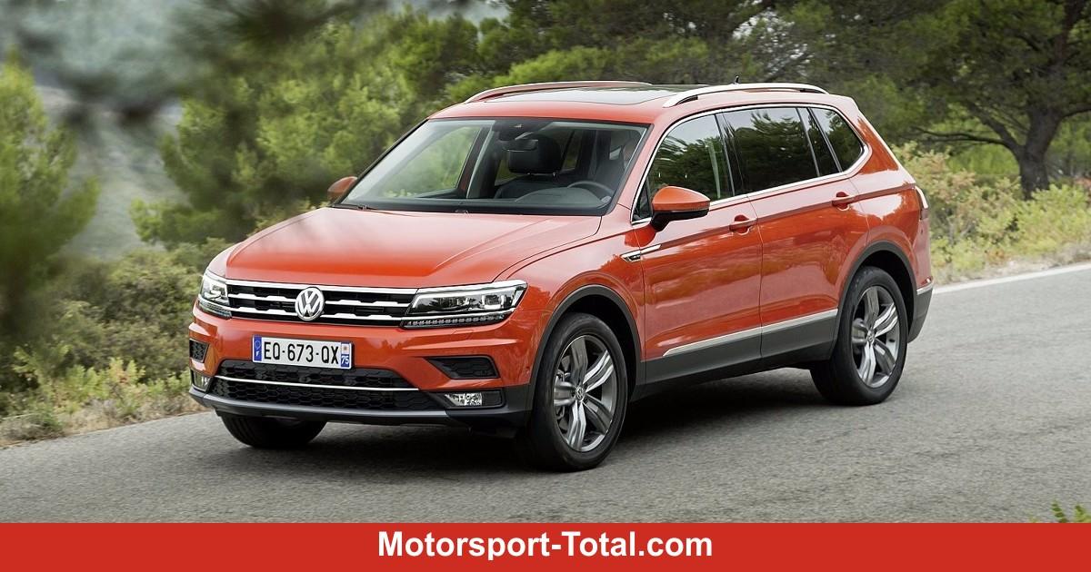 Volkswagen Tiguan Allspace: Bilder, Technische Daten, Maße
