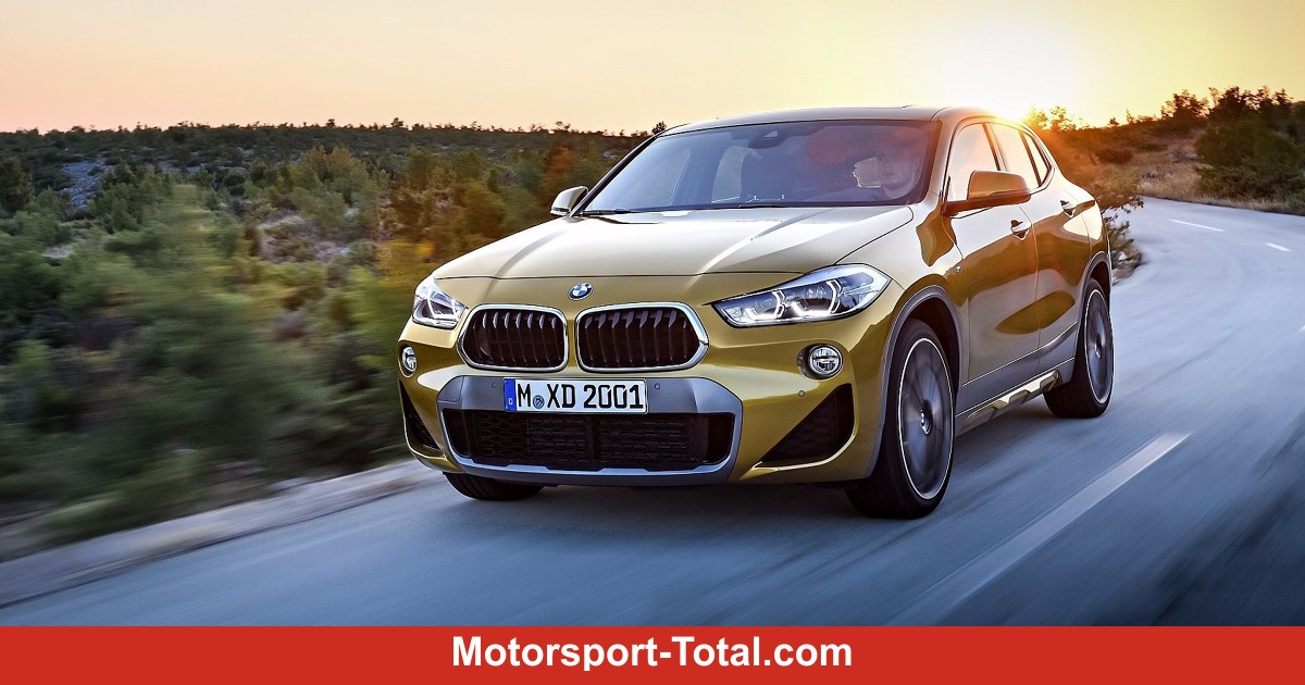 bmw x2 2018 bilder infos zu preis ma e motor innenraum. Black Bedroom Furniture Sets. Home Design Ideas