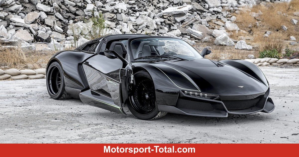 rezvani beast alpha x blackbird bilder infos zum neuen. Black Bedroom Furniture Sets. Home Design Ideas