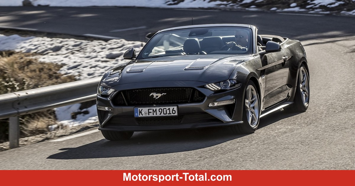ford mustang cabrio 2018 im test bilder infos zu preis. Black Bedroom Furniture Sets. Home Design Ideas