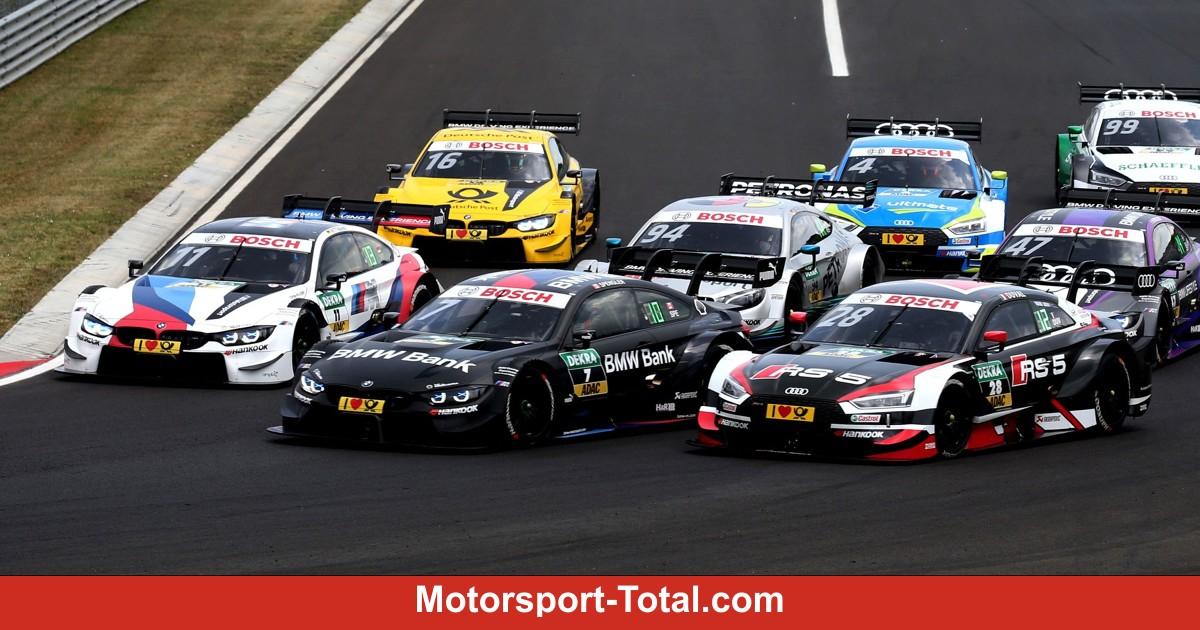 DTM Norisring 2018: Der komplette Zeitplan