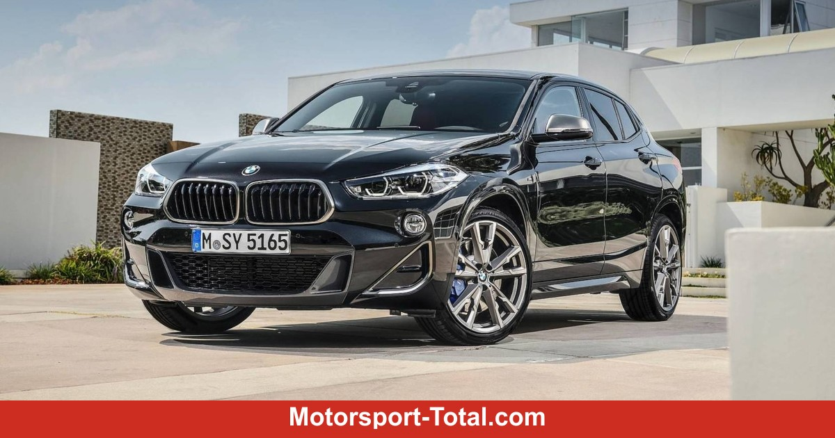 bmw x2 m35i 2019 mit 306 ps st rkster bmw vierzylinder. Black Bedroom Furniture Sets. Home Design Ideas
