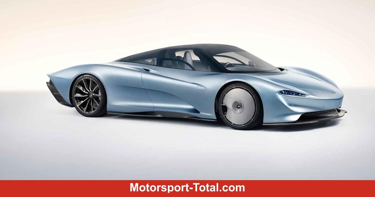 McLaren Speedtail: Thronfolger des legendären F1 enthüllt!