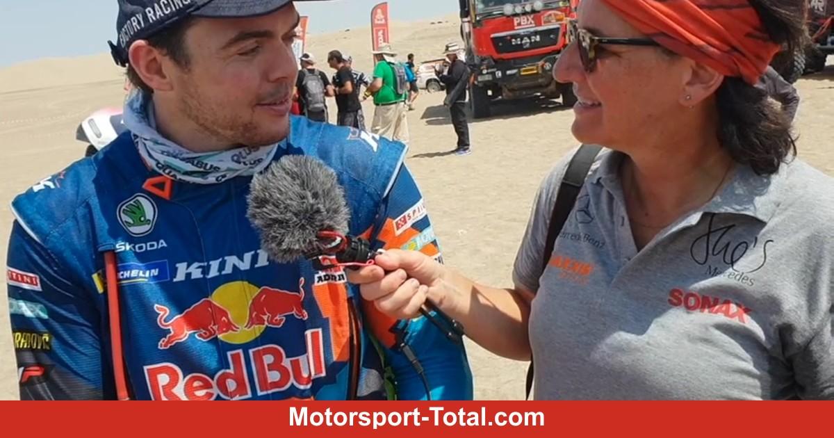 -Es-ist-extrem-l-ssig-Walkner-jubelt-ber-zweiten-Platz-bei-der-Rallye-Dakar