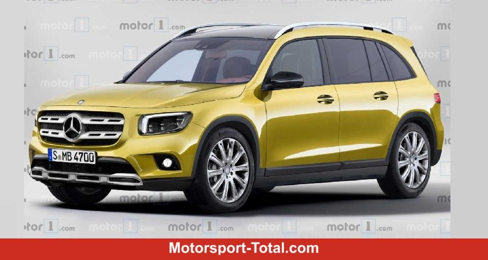 2d92e09a7e Mercedes GLB 2019 Rendering: So könnte das SUV zwischen GLA und GLC aussehen